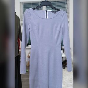 Armani Exchange Long Sleeve Mini Dress